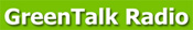 green talk radio logo